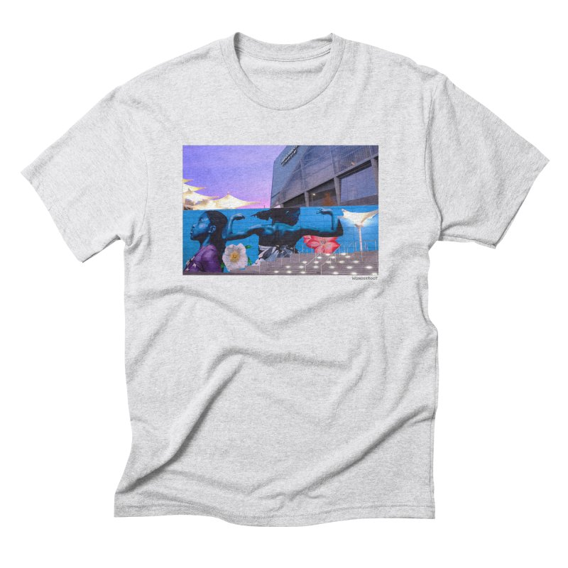 "Ernest Shaw ""Atlanta Strong"" for WonderRoot's Off The Wall Men's Triblend T-Shirt by WonderRoot's Artist Shop"