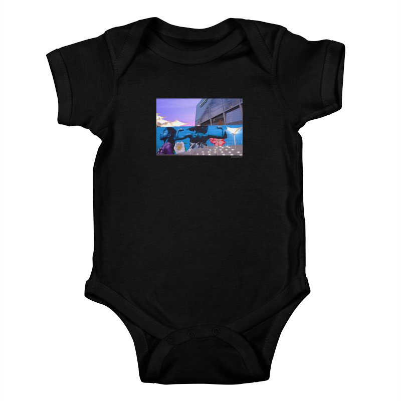 "Ernest Shaw ""Atlanta Strong"" for WonderRoot's Off The Wall Kids Baby Bodysuit by WonderRoot's Artist Shop"
