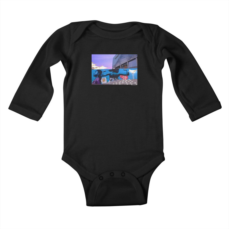 "Ernest Shaw ""Atlanta Strong"" for WonderRoot's Off The Wall Kids Baby Longsleeve Bodysuit by WonderRoot's Artist Shop"