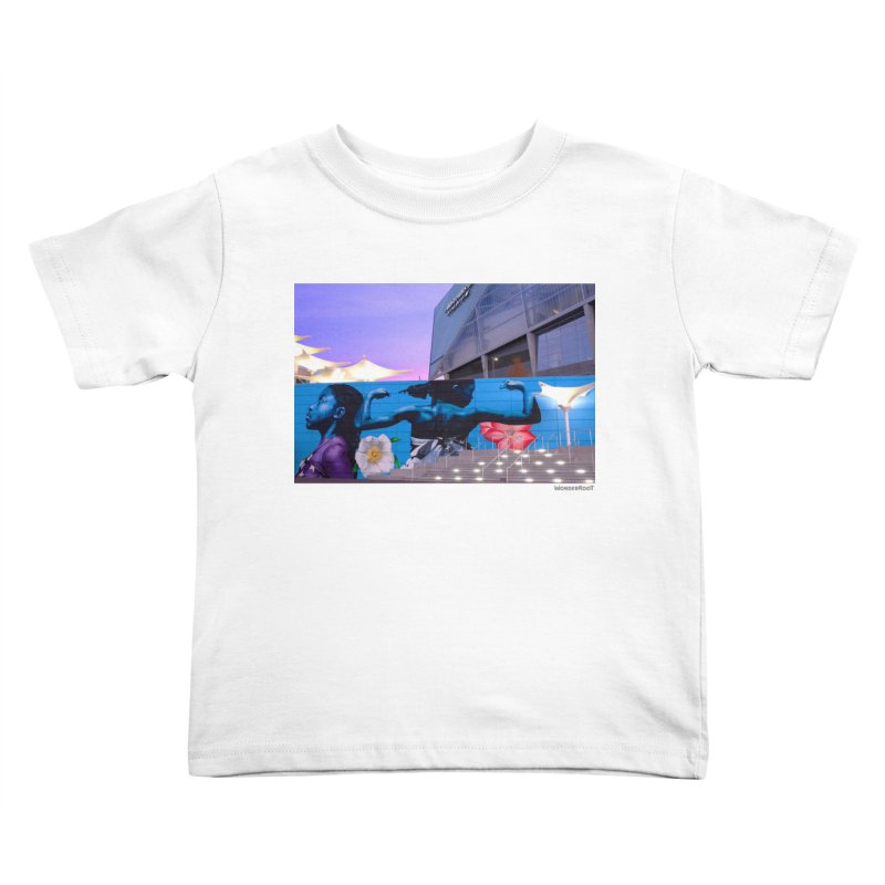 """Ernest Shaw """"Atlanta Strong"""" for WonderRoot's Off The Wall Kids Toddler T-Shirt by WonderRoot's Artist Shop"""