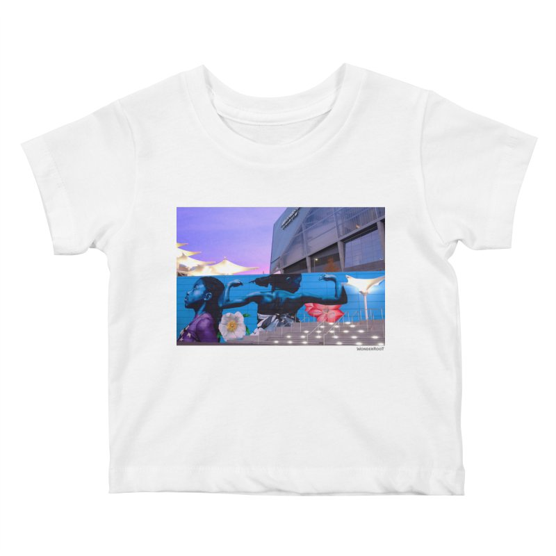 "Ernest Shaw ""Atlanta Strong"" for WonderRoot's Off The Wall Kids Baby T-Shirt by WonderRoot's Artist Shop"