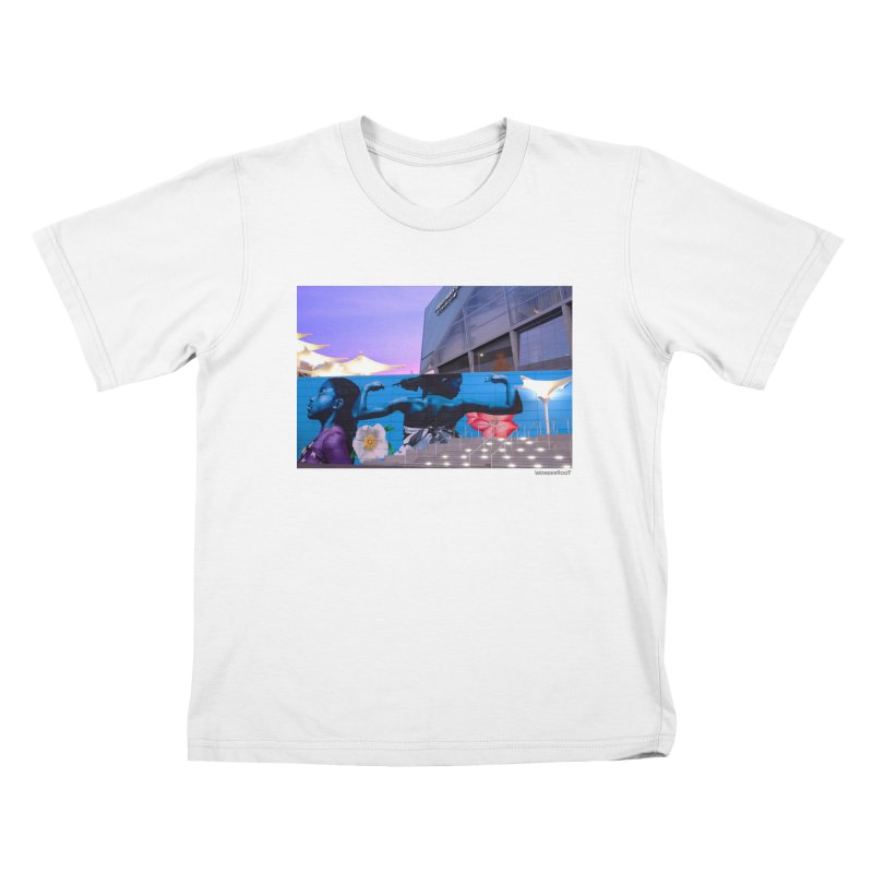 """Ernest Shaw """"Atlanta Strong"""" for WonderRoot's Off The Wall Kids T-Shirt by WonderRoot's Artist Shop"""