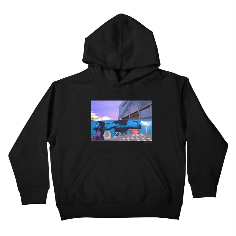 "Ernest Shaw ""Atlanta Strong"" for WonderRoot's Off The Wall Kids Pullover Hoody by WonderRoot's Artist Shop"