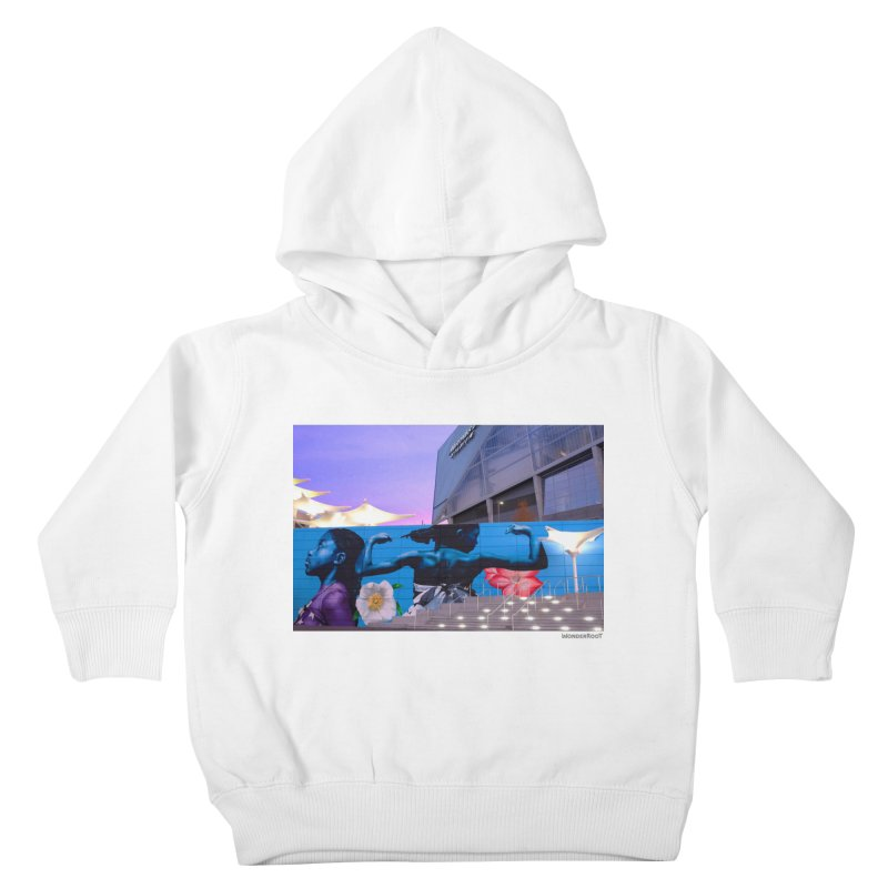 """Ernest Shaw """"Atlanta Strong"""" for WonderRoot's Off The Wall Kids Toddler Pullover Hoody by WonderRoot's Artist Shop"""
