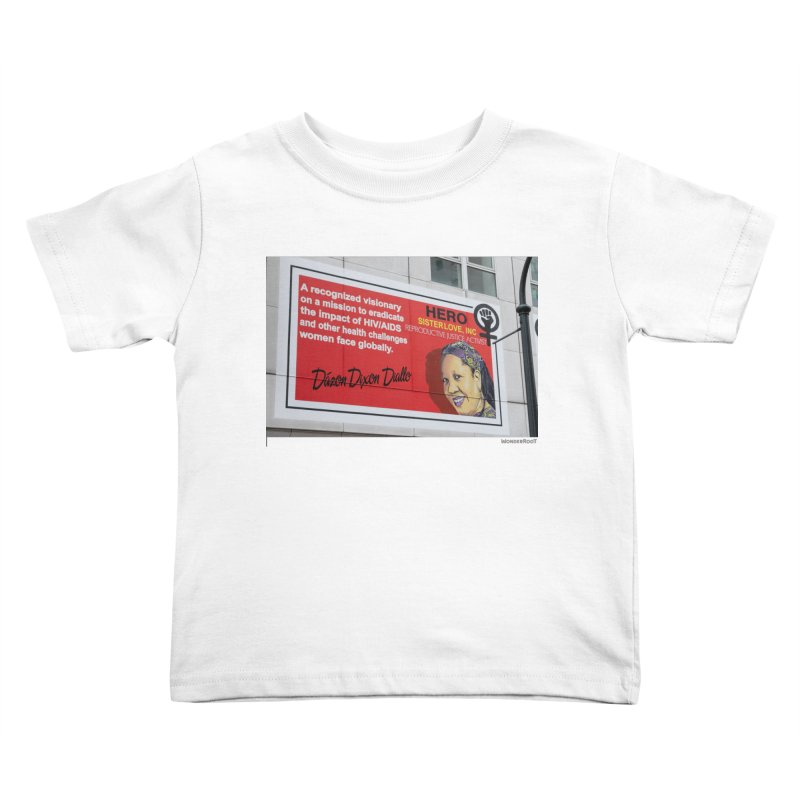 """The Loss Prevention Arts """"Intersectional Hero: Dázon"""" for WonderRoot's Off The Wall Kids Toddler T-Shirt by WonderRoot's Artist Shop"""