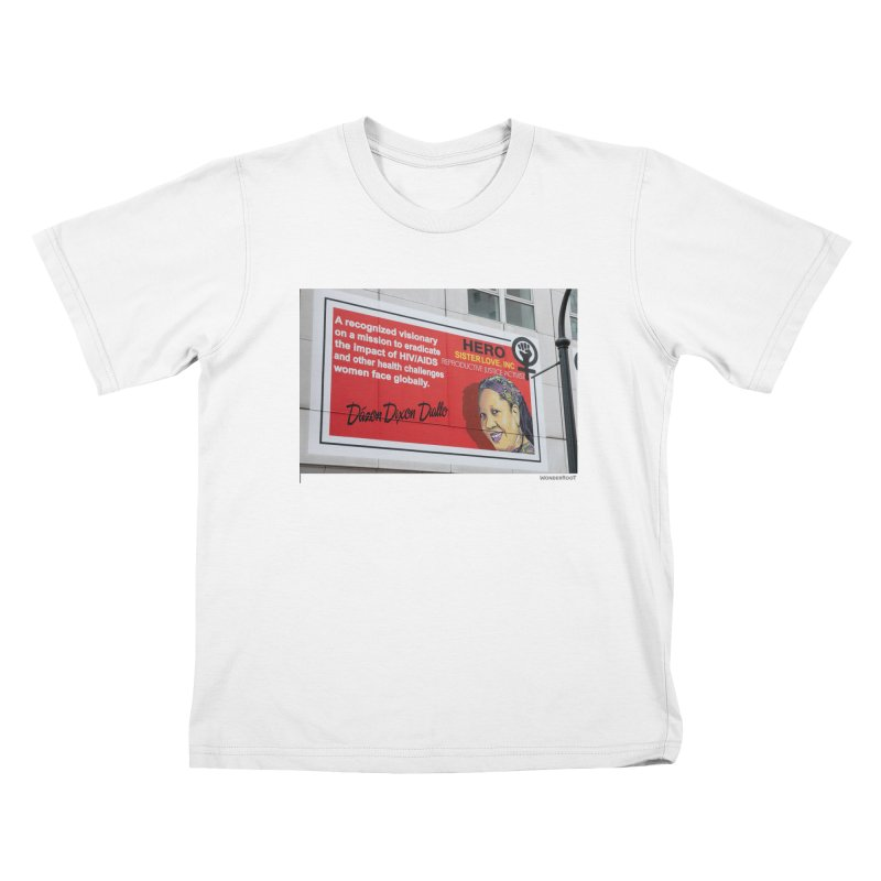 """The Loss Prevention Arts """"Intersectional Hero: Dázon"""" for WonderRoot's Off The Wall Kids T-Shirt by WonderRoot's Artist Shop"""