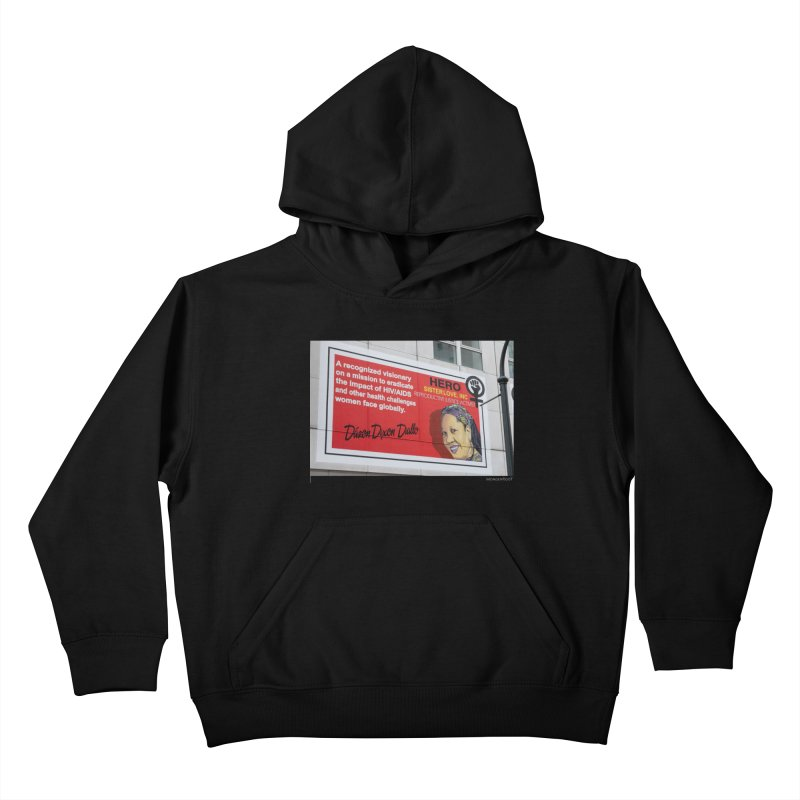 """The Loss Prevention Arts """"Intersectional Hero: Dázon"""" for WonderRoot's Off The Wall Kids Pullover Hoody by WonderRoot's Artist Shop"""