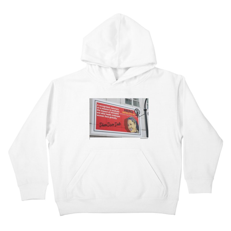 "The Loss Prevention Arts ""Intersectional Hero: Dázon"" for WonderRoot's Off The Wall Kids Pullover Hoody by WonderRoot's Artist Shop"