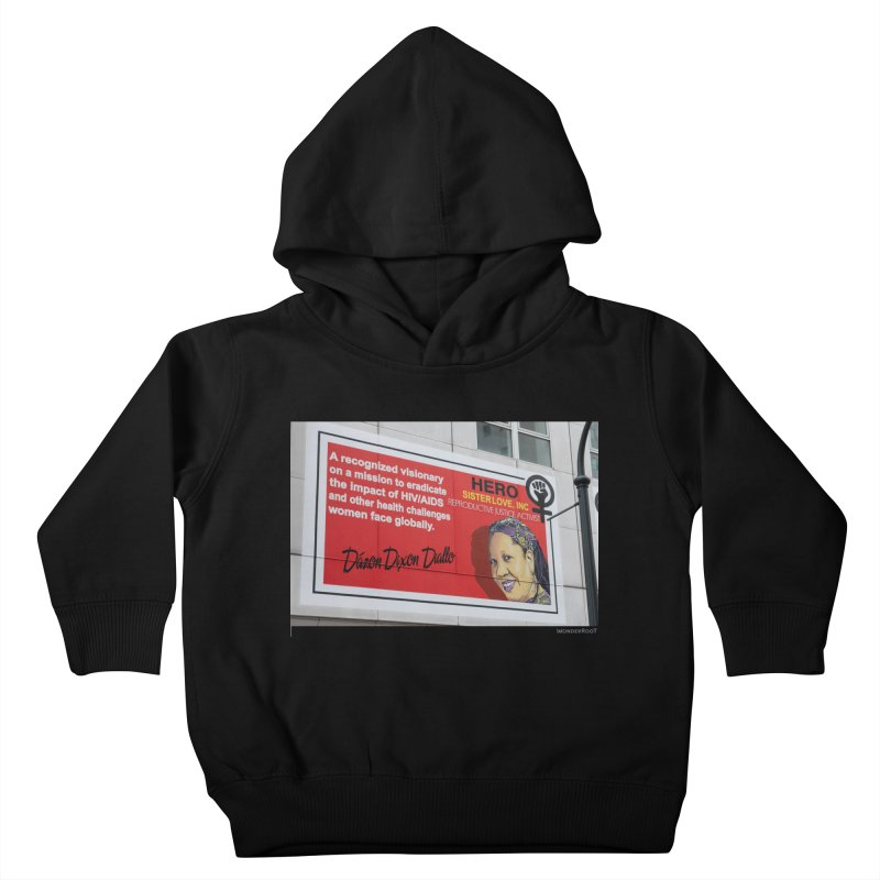 """The Loss Prevention Arts """"Intersectional Hero: Dázon"""" for WonderRoot's Off The Wall Kids Toddler Pullover Hoody by WonderRoot's Artist Shop"""