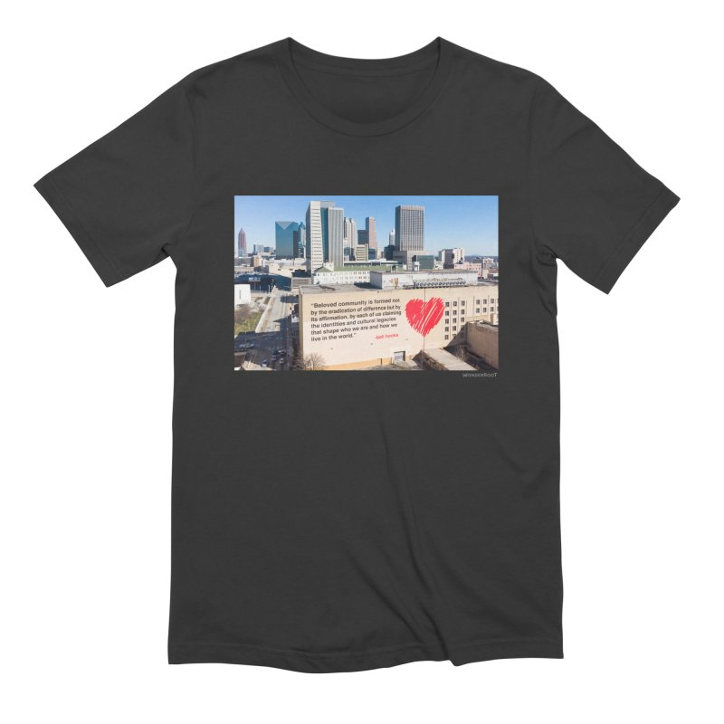 """The Loss Prevention Arts """"Beloved Community"""" for WonderRoot's Off The Wall Men's Extra Soft T-Shirt by WonderRoot's Artist Shop"""