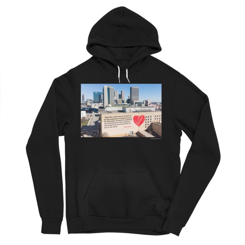 "The Loss Prevention Arts ""Beloved Community"" for WonderRoot's Off The Wall Men's Sponge Fleece Pullover Hoody by WonderRoot's Artist Shop"