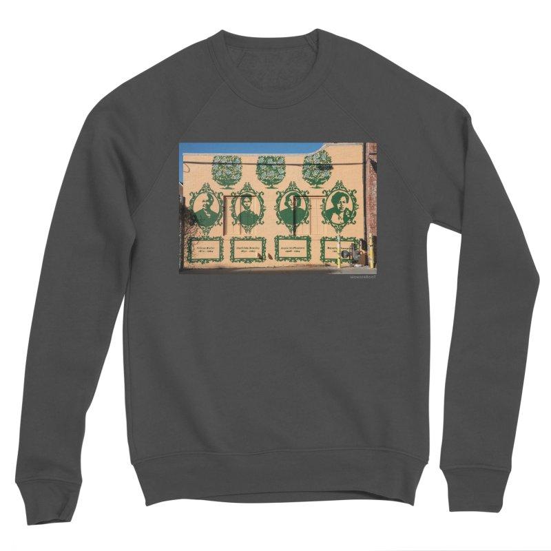 "Shanequa Gay ""(re)framing herstory"" for WonderRoot's Off The Wall Men's Sponge Fleece Sweatshirt by WonderRoot's Artist Shop"
