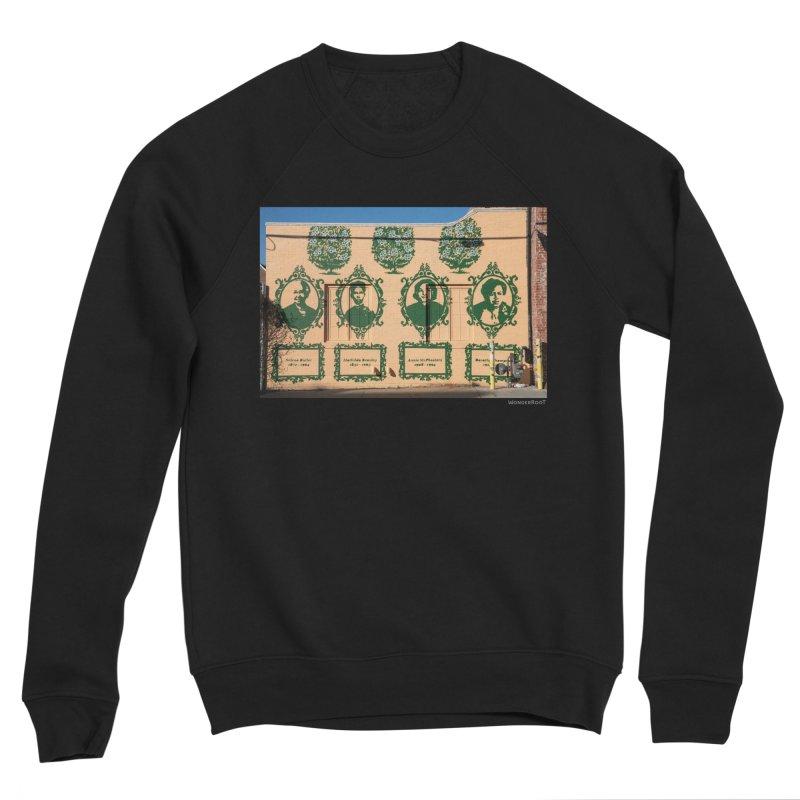 "Shanequa Gay ""(re)framing herstory"" for WonderRoot's Off The Wall Women's Sponge Fleece Sweatshirt by WonderRoot's Artist Shop"