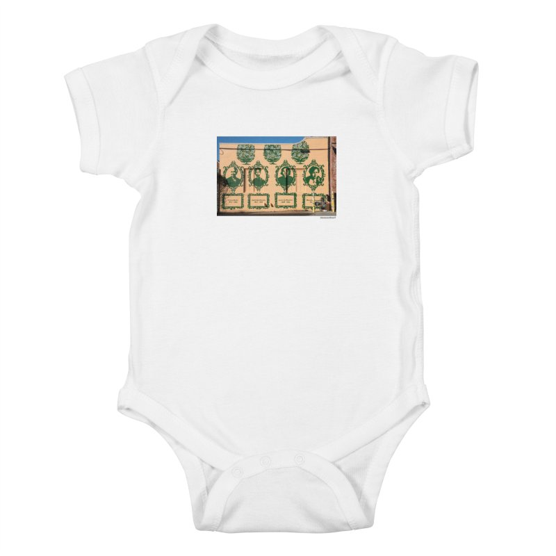 "Shanequa Gay ""(re)framing herstory"" for WonderRoot's Off The Wall Kids Baby Bodysuit by WonderRoot's Artist Shop"
