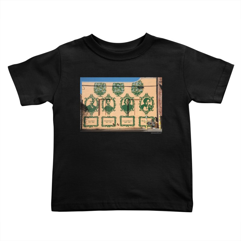 """Shanequa Gay """"(re)framing herstory"""" for WonderRoot's Off The Wall Kids Toddler T-Shirt by WonderRoot's Artist Shop"""
