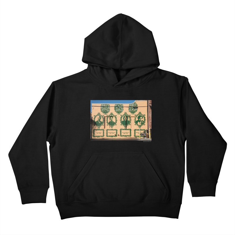 """Shanequa Gay """"(re)framing herstory"""" for WonderRoot's Off The Wall Kids Pullover Hoody by WonderRoot's Artist Shop"""