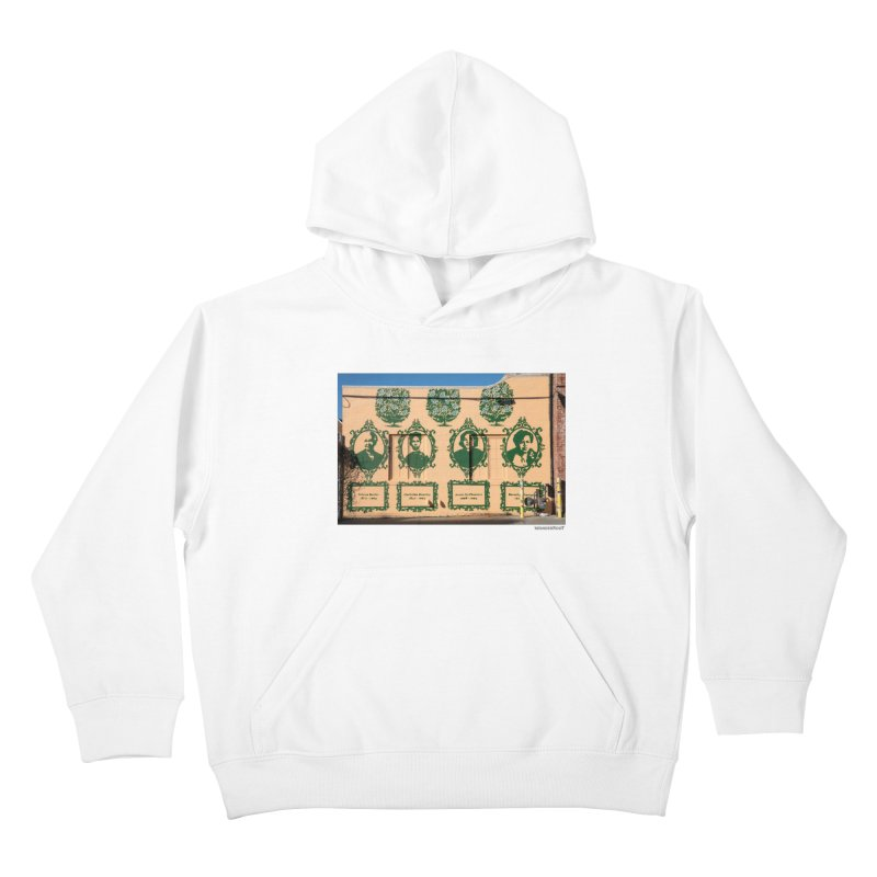 "Shanequa Gay ""(re)framing herstory"" for WonderRoot's Off The Wall Kids Pullover Hoody by WonderRoot's Artist Shop"