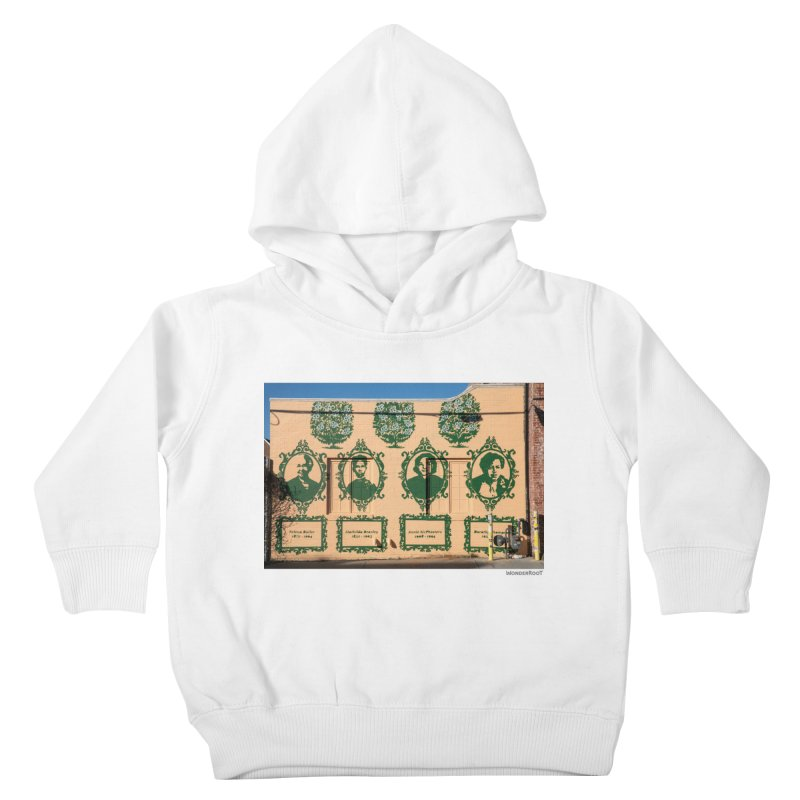 """Shanequa Gay """"(re)framing herstory"""" for WonderRoot's Off The Wall Kids Toddler Pullover Hoody by WonderRoot's Artist Shop"""