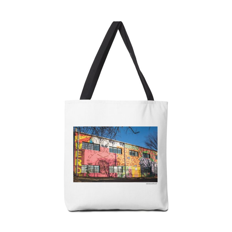 "Shanequa Gay ""Remembering How Sweet Auburn Is"" for WonderRoot's Off The Wall Accessories Tote Bag Bag by WonderRoot's Artist Shop"