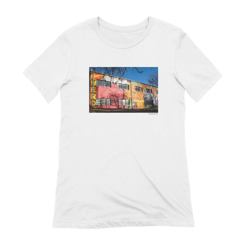 "Shanequa Gay ""Remembering How Sweet Auburn Is"" for WonderRoot's Off The Wall Women's Extra Soft T-Shirt by WonderRoot's Artist Shop"