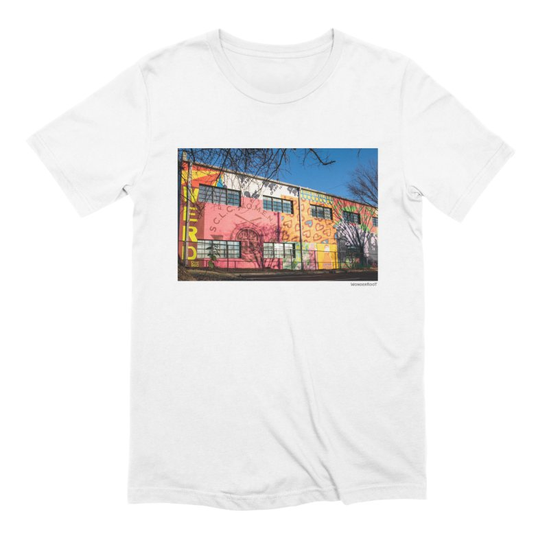 "Shanequa Gay ""Remembering How Sweet Auburn Is"" for WonderRoot's Off The Wall Men's Extra Soft T-Shirt by WonderRoot's Artist Shop"