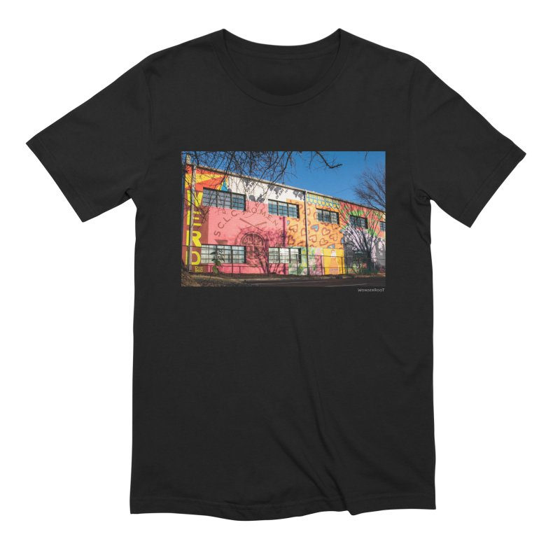 """Shanequa Gay """"Remembering How Sweet Auburn Is"""" for WonderRoot's Off The Wall Men's Extra Soft T-Shirt by WonderRoot's Artist Shop"""
