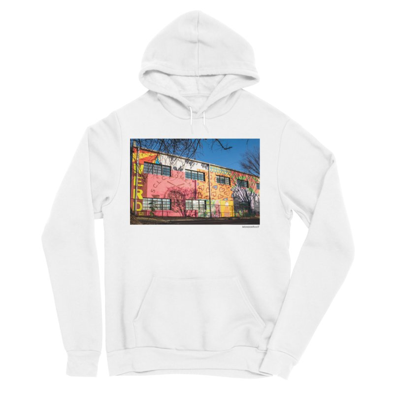 "Shanequa Gay ""Remembering How Sweet Auburn Is"" for WonderRoot's Off The Wall Men's Sponge Fleece Pullover Hoody by WonderRoot's Artist Shop"