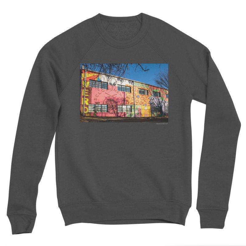 "Shanequa Gay ""Remembering How Sweet Auburn Is"" for WonderRoot's Off The Wall Women's Sponge Fleece Sweatshirt by WonderRoot's Artist Shop"