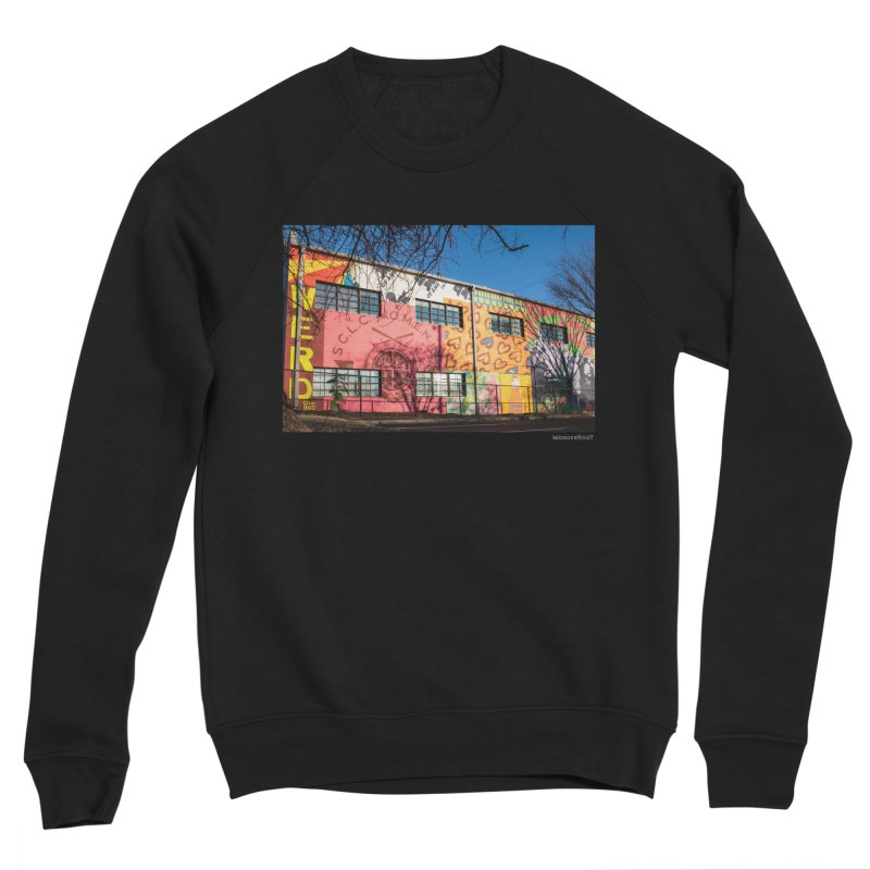 "Shanequa Gay ""Remembering How Sweet Auburn Is"" for WonderRoot's Off The Wall Women's Sponge Fleece Sweatshirt by WonderRoot's Artist Shop"