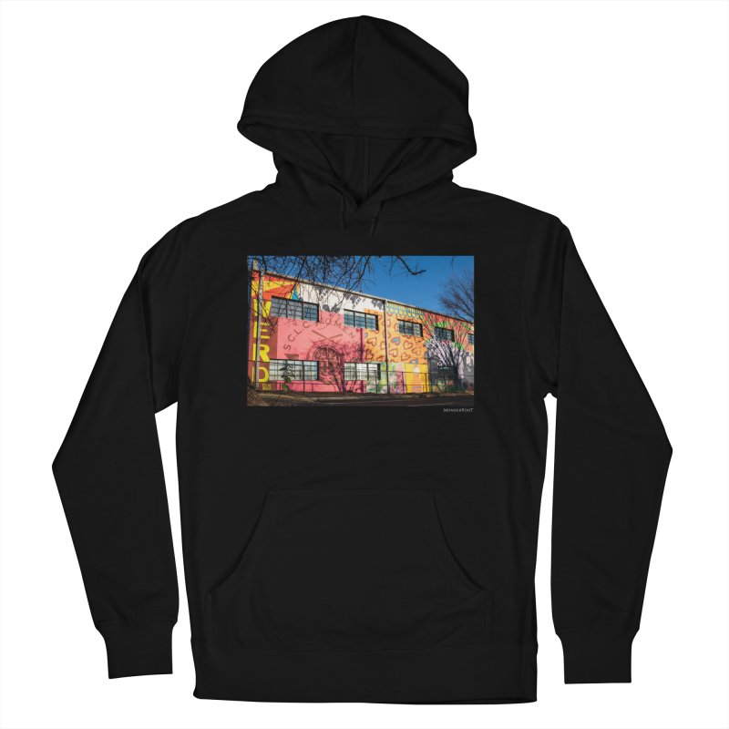 """Shanequa Gay """"Remembering How Sweet Auburn Is"""" for WonderRoot's Off The Wall Women's French Terry Pullover Hoody by WonderRoot's Artist Shop"""