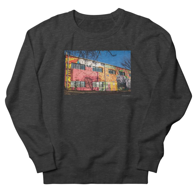 """Shanequa Gay """"Remembering How Sweet Auburn Is"""" for WonderRoot's Off The Wall Men's French Terry Sweatshirt by WonderRoot's Artist Shop"""