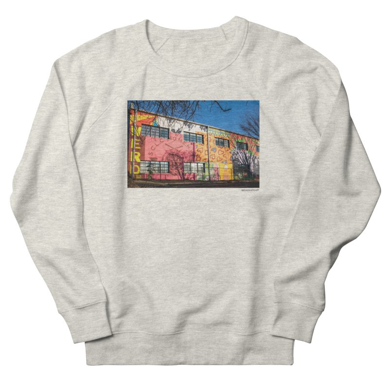"Shanequa Gay ""Remembering How Sweet Auburn Is"" for WonderRoot's Off The Wall Men's French Terry Sweatshirt by WonderRoot's Artist Shop"
