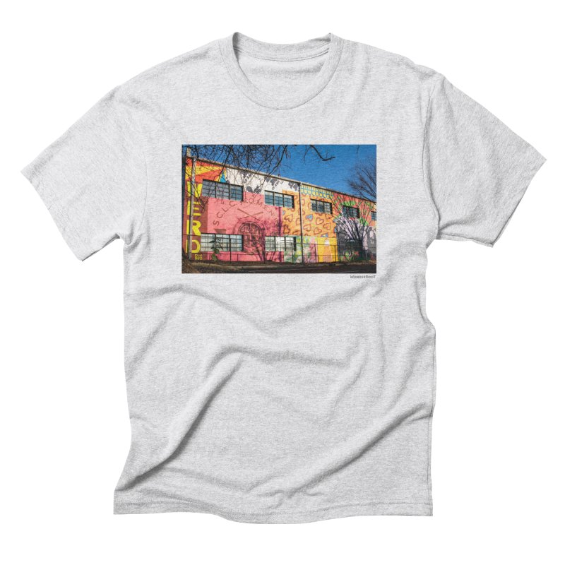 "Shanequa Gay ""Remembering How Sweet Auburn Is"" for WonderRoot's Off The Wall Men's Triblend T-Shirt by WonderRoot's Artist Shop"