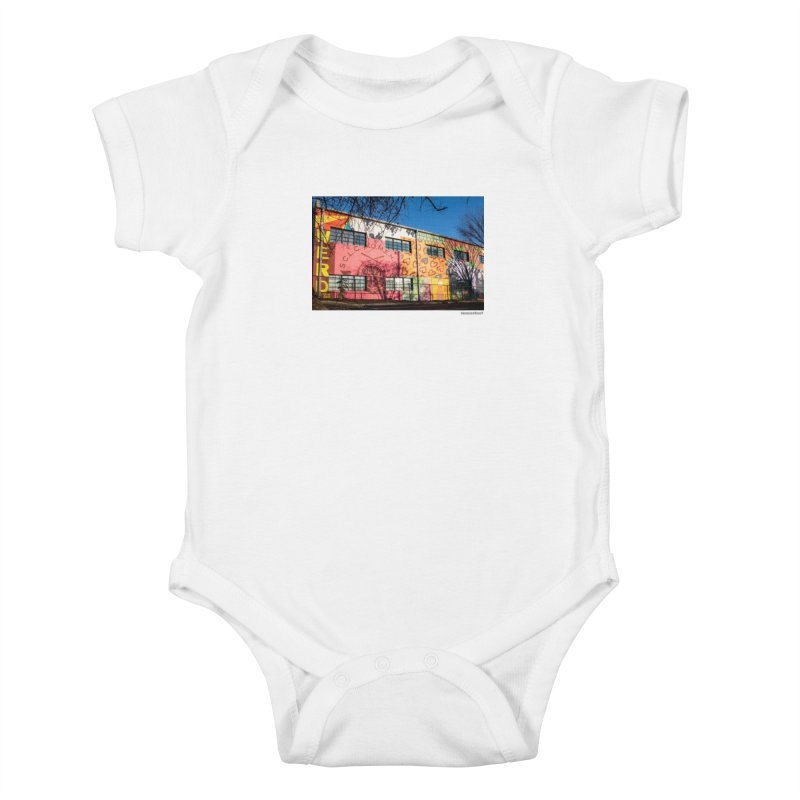 "Shanequa Gay ""Remembering How Sweet Auburn Is"" for WonderRoot's Off The Wall Kids Baby Bodysuit by WonderRoot's Artist Shop"