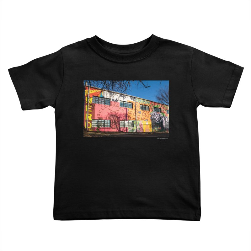 """Shanequa Gay """"Remembering How Sweet Auburn Is"""" for WonderRoot's Off The Wall Kids Toddler T-Shirt by WonderRoot's Artist Shop"""