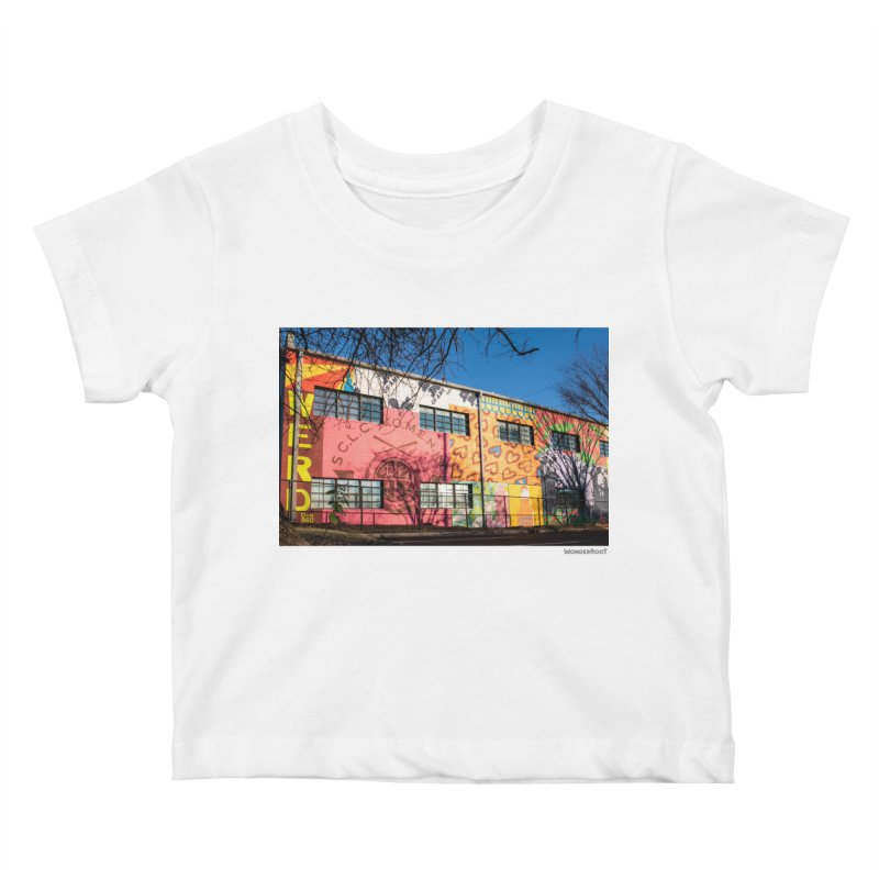 "Shanequa Gay ""Remembering How Sweet Auburn Is"" for WonderRoot's Off The Wall Kids Baby T-Shirt by WonderRoot's Artist Shop"