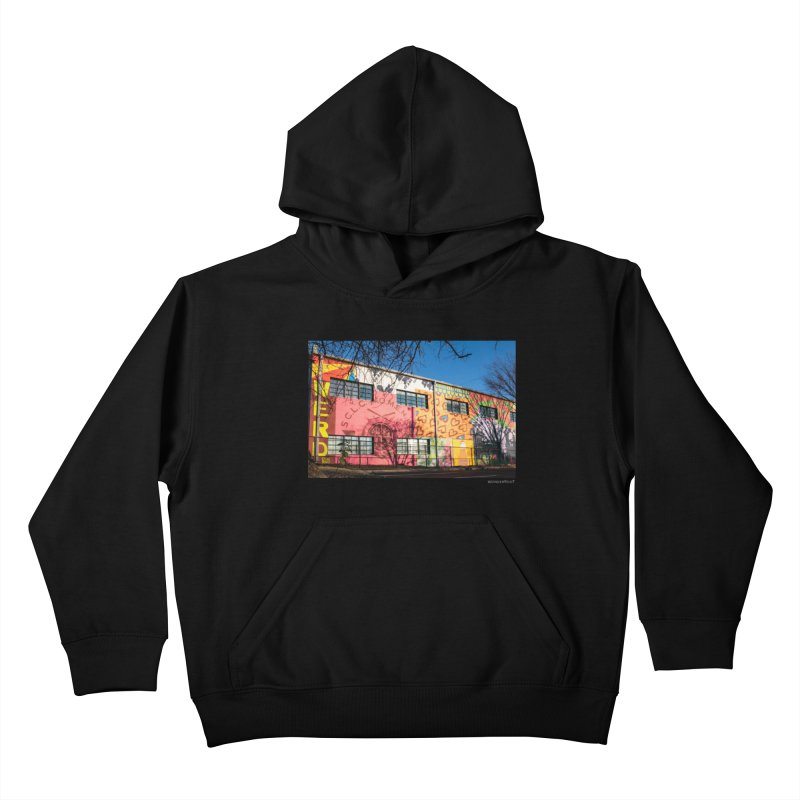 """Shanequa Gay """"Remembering How Sweet Auburn Is"""" for WonderRoot's Off The Wall Kids Pullover Hoody by WonderRoot's Artist Shop"""