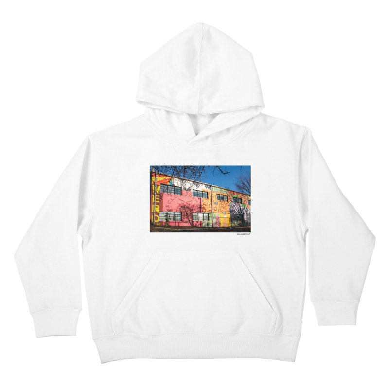 "Shanequa Gay ""Remembering How Sweet Auburn Is"" for WonderRoot's Off The Wall Kids Pullover Hoody by WonderRoot's Artist Shop"