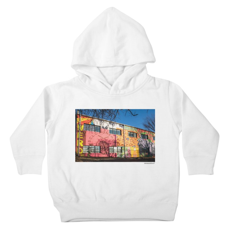 """Shanequa Gay """"Remembering How Sweet Auburn Is"""" for WonderRoot's Off The Wall Kids Toddler Pullover Hoody by WonderRoot's Artist Shop"""