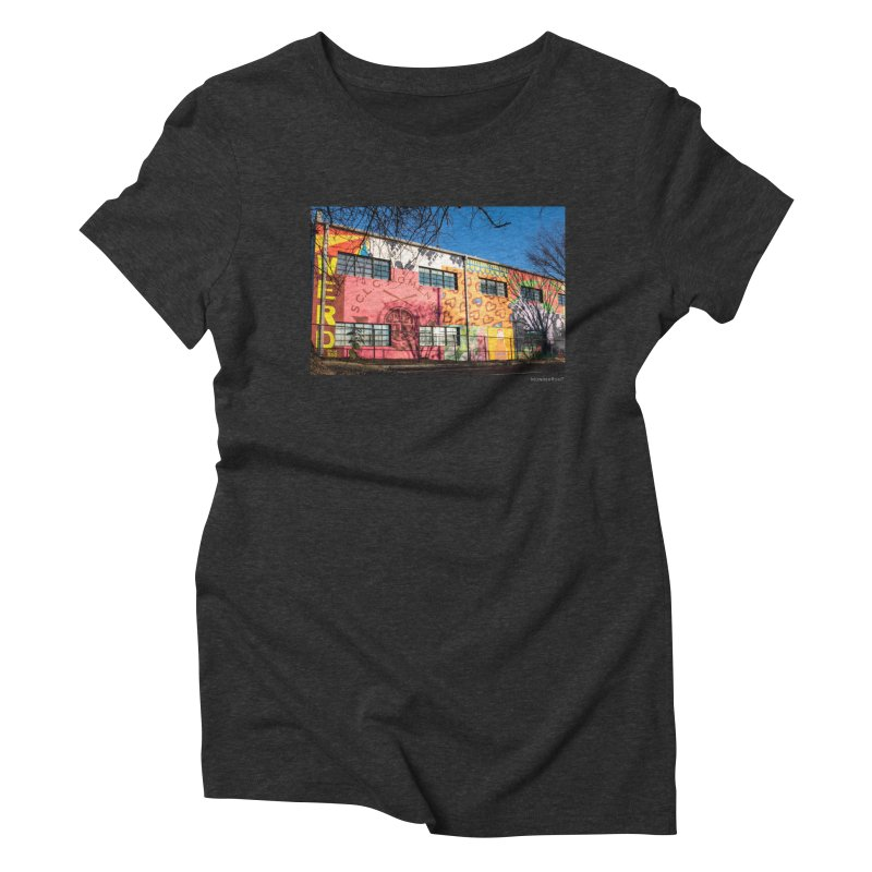"""Shanequa Gay """"Remembering How Sweet Auburn Is"""" for WonderRoot's Off The Wall Women's Triblend T-Shirt by WonderRoot's Artist Shop"""