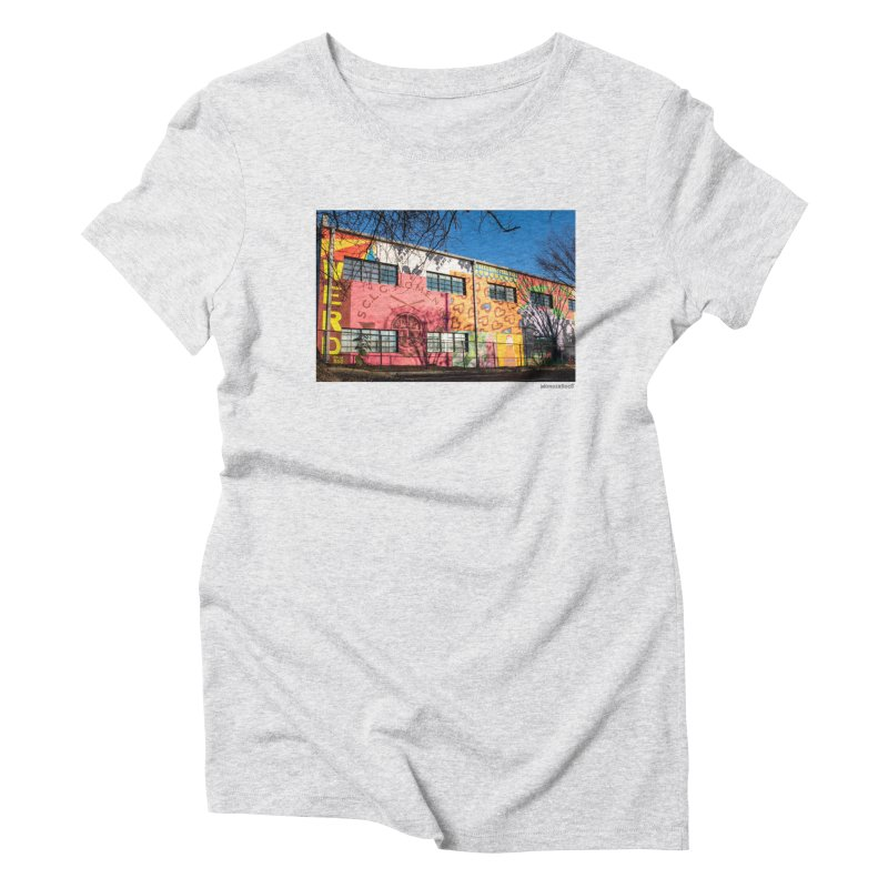 "Shanequa Gay ""Remembering How Sweet Auburn Is"" for WonderRoot's Off The Wall Women's Triblend T-Shirt by WonderRoot's Artist Shop"