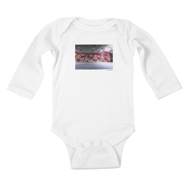 "Yehimi Cambron ""Monuments: We Carry The Dreams"" for WonderRoot's Off The Wall Kids Baby Longsleeve Bodysuit by WonderRoot's Artist Shop"