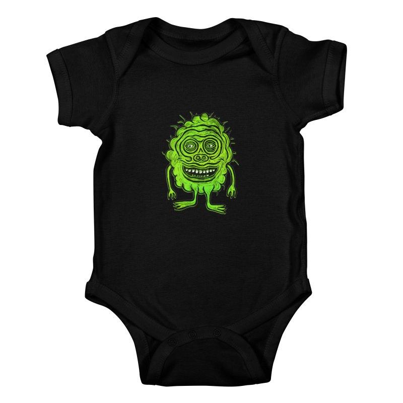 Hector Meatbaugh Kids Baby Bodysuit by Sean StarWars' Artist Shop
