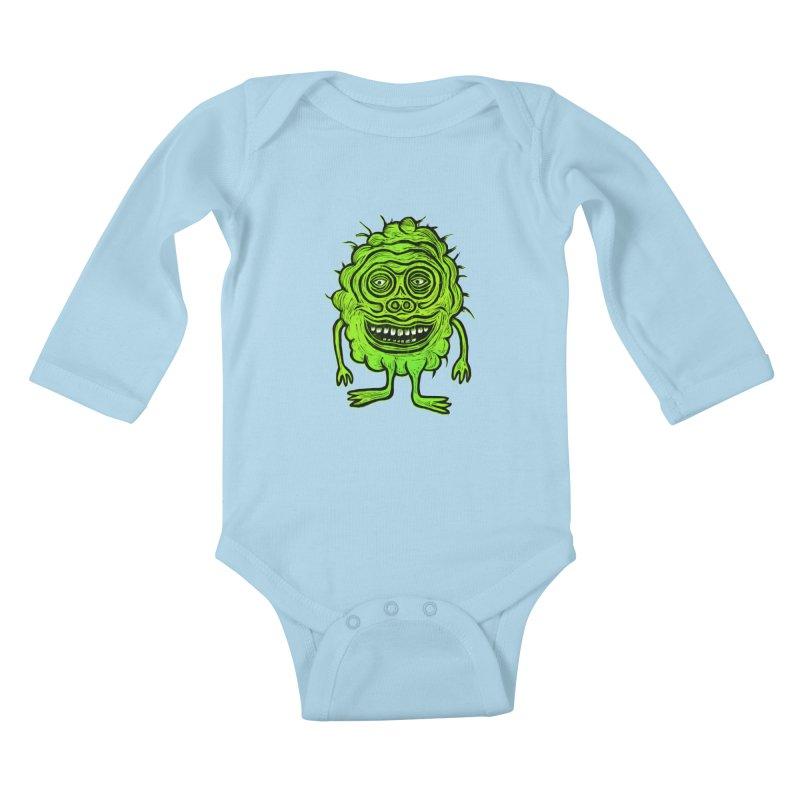 Hector Meatbaugh Kids Baby Longsleeve Bodysuit by Sean StarWars' Artist Shop