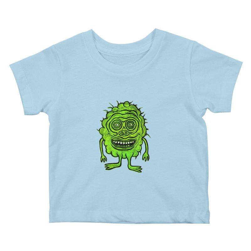 Hector Meatbaugh Kids Baby T-Shirt by Sean StarWars' Artist Shop