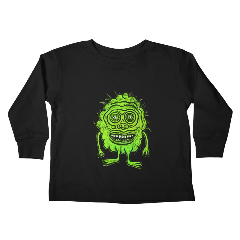 Hector Meatbaugh Kids Toddler Longsleeve T-Shirt by Sean StarWars' Artist Shop