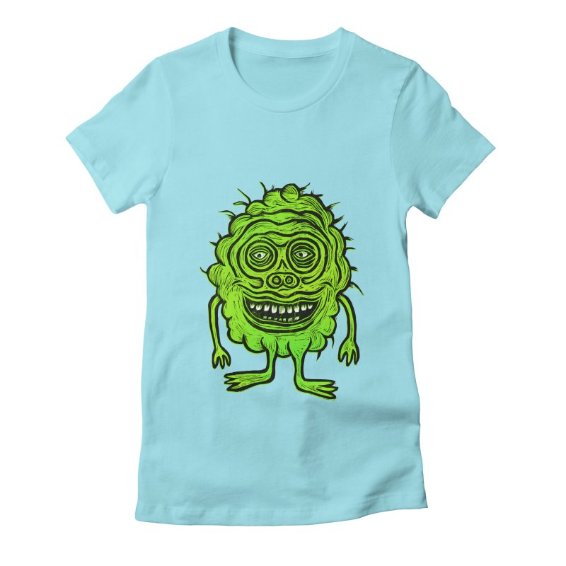 Hector Meatbaugh Women's Fitted T-Shirt by Sean StarWars' Artist Shop