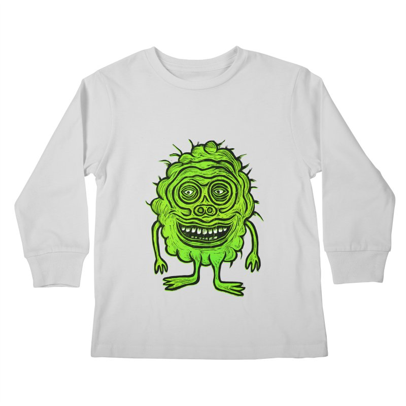 Hector Meatbaugh Kids Longsleeve T-Shirt by Sean StarWars' Artist Shop