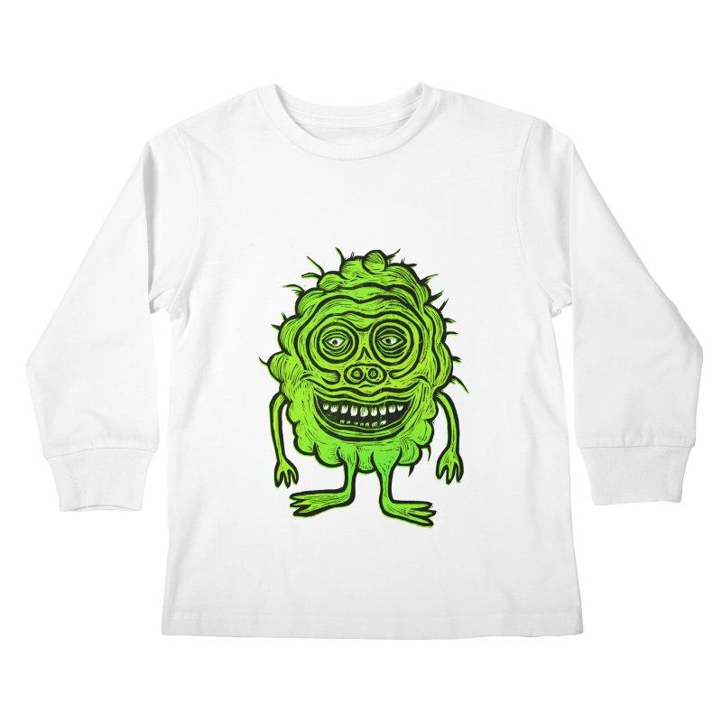 Hector Meatbaugh Kids Longsleeve T-Shirt by Sean StarWars' Artist Shop