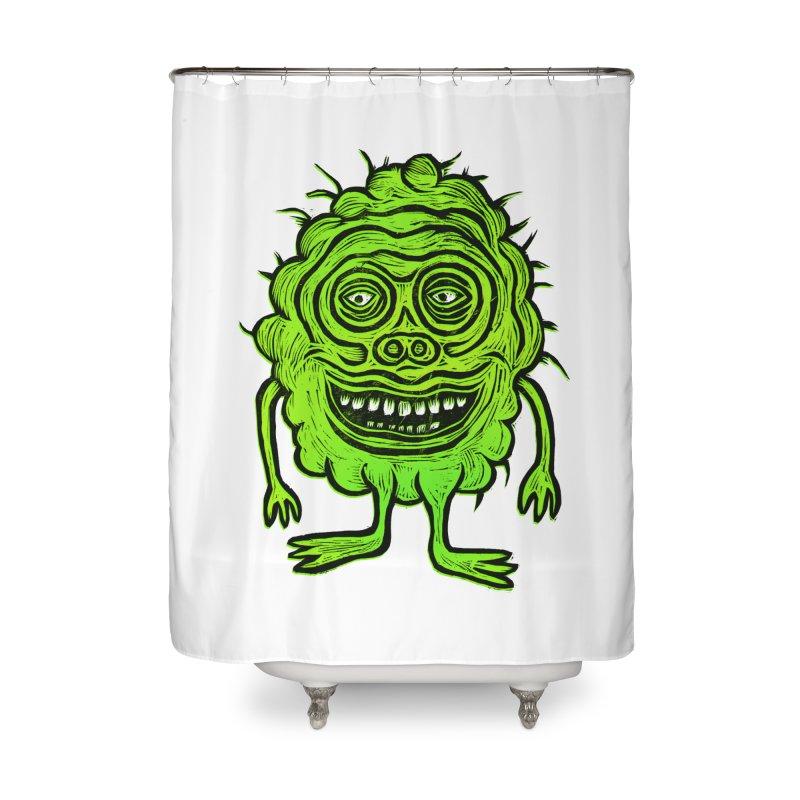Hector Meatbaugh Home Shower Curtain by Sean StarWars' Artist Shop